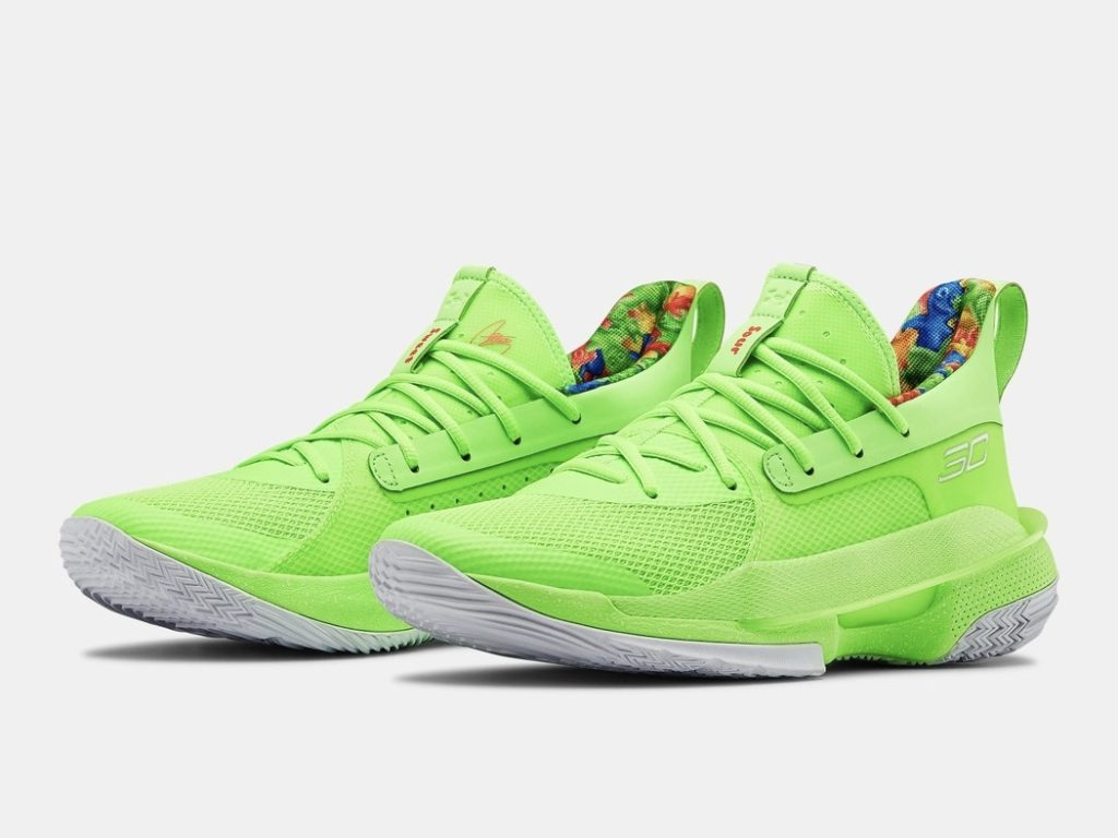 UNDER ARMOUR CURRY 7 Sour Patch Kids(アンダーアーマー カリー7 サワー アンド パッチ)オフィシャルイメージ 01