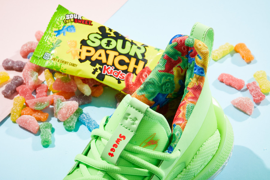 UNDER ARMOUR CURRY 7 Sour Patch Kids(アンダーアーマー カリー7 サワー アンド パッチ)オフィシャルイメージ 05