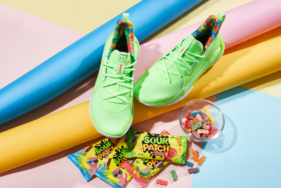 UNDER ARMOUR CURRY 7 Sour Patch Kids(アンダーアーマー カリー7 サワー アンド パッチ)オフィシャルイメージ 06