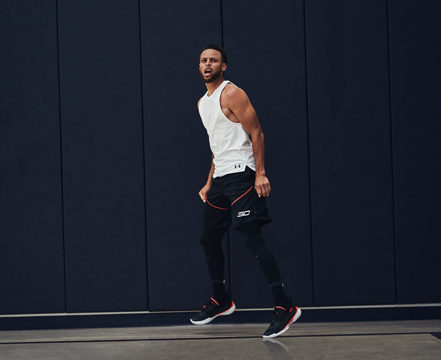 underarmour curry 7 focus(アンダーアーマー カリー7 フォーカス)ステフィン・カリー着用04