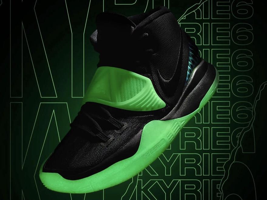 Nike Kyrie 6 By You 'Glow in the dark' (ナイキ カイリー 6 バイ ユー グロー イン ザ ダーク)オフィシャルイメージ 01